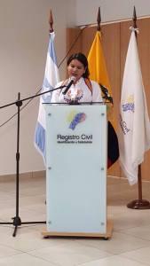 Diane Rodriguez logra logro el cambio de sexo por genero en la cedula de identidad para trans travestis transgeneros transexuales en Ecuador del registro civil (10)