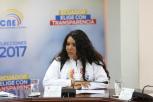Diane Rodriguez presidenta de Federación de Organizaciones LGBTI logra acuerdos en favor de los LGBTI con el Consejo Nacional Electoral