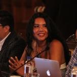 Diane Rodriguez reunión con Rafael Correa 2016