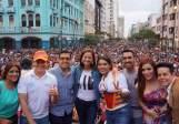Diane Rodriguez y Marcela Aguinaga en el orgullo gay lgbt glbti 2016 guayaquil guayas ecuador (1)