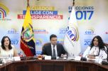 Juan Pablo Pozo y Diane Rodriguez firman acuerdos LGBTI
