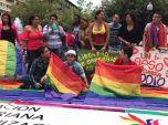 Dine Rodriguez activista transgenero y lgbt en el beso diverso 2017 federacion lgbt silueta x (1)