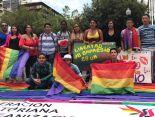 Dine Rodriguez activista transgenero y lgbt en el beso diverso 2017 federacion lgbt silueta x (4)