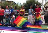 Dine Rodriguez activista transgenero y lgbt en el beso diverso 2017 federacion lgbt silueta x (5)