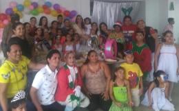 Agasajo Navideño a niños con enfermedades catastroficas y VIH - Asociación LGBT Silueta X - Ecuador (73)