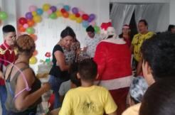 Agasajo Navideño a niños con enfermedades catastroficas y VIH - Asociación LGBT Silueta X - Ecuador (96)