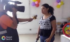 Agasajo Navideño a niños con enfermedades catastroficas y VIH con transexual diane rodriguez - Asociación LGBT Silueta X - Ecuador (4)