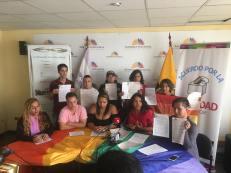 LGBTI Convocan al NO en 2 3 y 6 preguntas de la COnsulta Popular y solicitan a lenin moreno cumplir con los acuerdos (10)