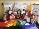 LGBTI Convocan al NO en 2 3 y 6 preguntas de la COnsulta Popular y solicitan a lenin moreno cumplir con los acuerdos (2)