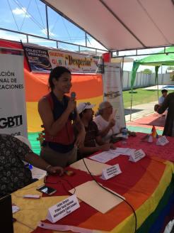 2do encuentro nacional y segunda asamblea de la federación ecuatoriana de organizaciones LGBTI - Diane Rodriguez