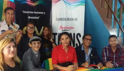 La Federación Ecuatoriana de Organizaciones LGBTI a traves de la Asociación Silueta X presentó el Estudio de percepción ciudadana de avances o retrocesos LGBTI 10