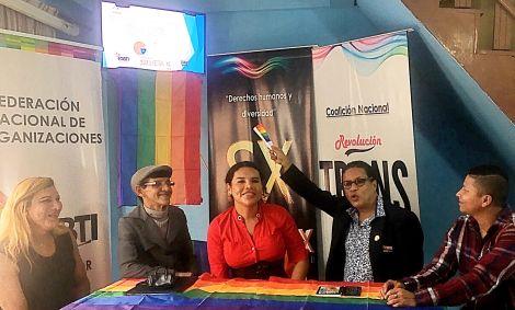 La Federación Ecuatoriana de Organizaciones LGBTI a traves de la Asociación Silueta X presentó el Estudio de percepción ciudadana de avances o retrocesos LGBTI 6