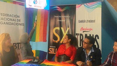 La Federación Ecuatoriana de Organizaciones LGBTI a traves de la Asociación Silueta X presentó el Estudio de percepción ciudadana de avances o retrocesos LGBTI 7