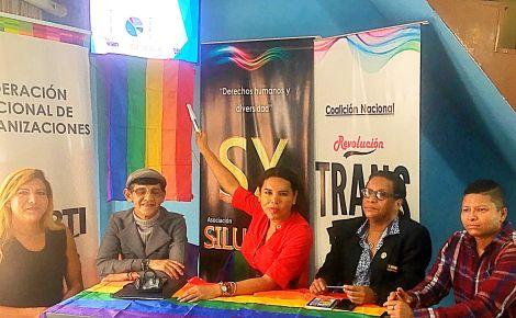 La Federación Ecuatoriana de Organizaciones LGBTI a traves de la Asociación Silueta X presentó el Estudio de percepción ciudadana de avances o retrocesos LGBTI 8