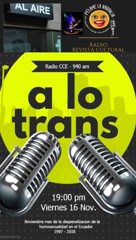 radio, federacion ecuatoriana de organizaciones lgbti