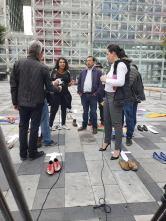 Iniciativa Zapatos diversos por asesinatos LGBT ecuador Asociación Silueta X Federación ecuatoriana (16)