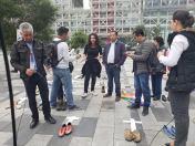 Iniciativa Zapatos diversos por asesinatos LGBT ecuador Asociación Silueta X Federación ecuatoriana (9)
