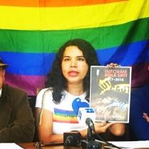 Iniciativa Zapatos diversos por asesinatos LGBT ecuador Asociación Silueta X Federación ecuatoriana - diane rodriguez (4)