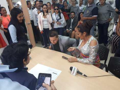 fotos del 2do matrimonio homosexual en Ecuador de Gina y Veronica en Santo Domingo de los Tsashilas 2.jpg