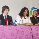 Camara LGBT del Ecuador rueda de prensa sobre lanzamiento - CEO Diane Rodriguez (7)