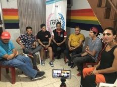 Asociación Transmasculinos Ecuador - Hombres trans FTM - Taller terapia hormonal y peligros (10)