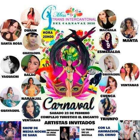 Trans intercantonal carnaval de Naranjal