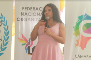 5to Encuentro Nacional de Poblaciones Sexo Diversas - Federación Ecuatoriana de Organizaciones LGBT - Diane Rodriguez 2