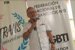 5to Encuentro Nacional de Poblaciones Sexo Diversas - Federación Ecuatoriana de Organizaciones LGBT - Geovanni Jaramillo