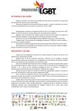 Manifiesto - 5to Encuentro Nacional de Poblaciones Sexo Diversas - Federación Ecuatoriana de Organizaciones LGBT 1