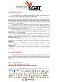 Manifiesto - 5to Encuentro Nacional de Poblaciones Sexo Diversas - Federación Ecuatoriana de Organizaciones LGBT 2