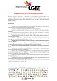 Manifiesto - 5to Encuentro Nacional de Poblaciones Sexo Diversas - Federación Ecuatoriana de Organizaciones LGBT