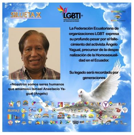 Fallecimiento Angelo Yagual