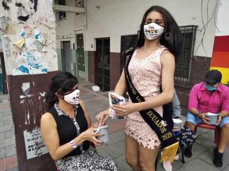 Inauguración del Primer Comedor Comunitario Trans en Guayaquil - Ecuador iniciativa de la Asociación Silueta X (4)