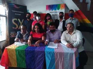Rueda de Prensa - ACCIÓN DE PROTECCIÓN CONTRA EL CONSEJO PARA LA IGUALDAD DE GÉNERO PARA LA CONFORMACIÓN DEL CONSEJO CONSULTIVO LGBTI - Asociación Silueta X - Campaña Tiempo de Igualdad (4)